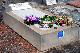 Clare Beckett grave - after